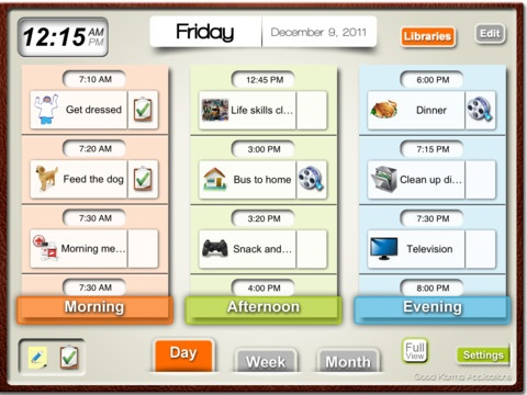 daily schedule app