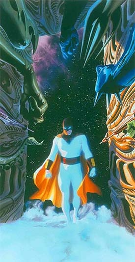 Space Ghost - Alex Ross <3