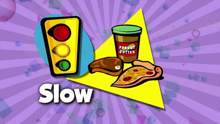 FIT KIDS 78 Go,Slow,Whoa Foods