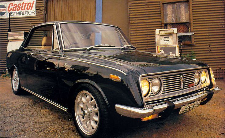 1967 Toyota Corona Coupe RT50
