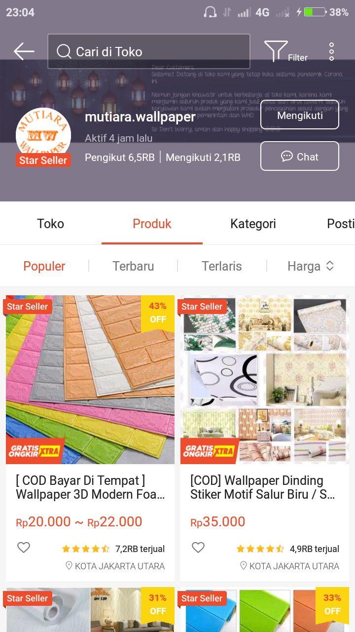 Website Beli Baju Online