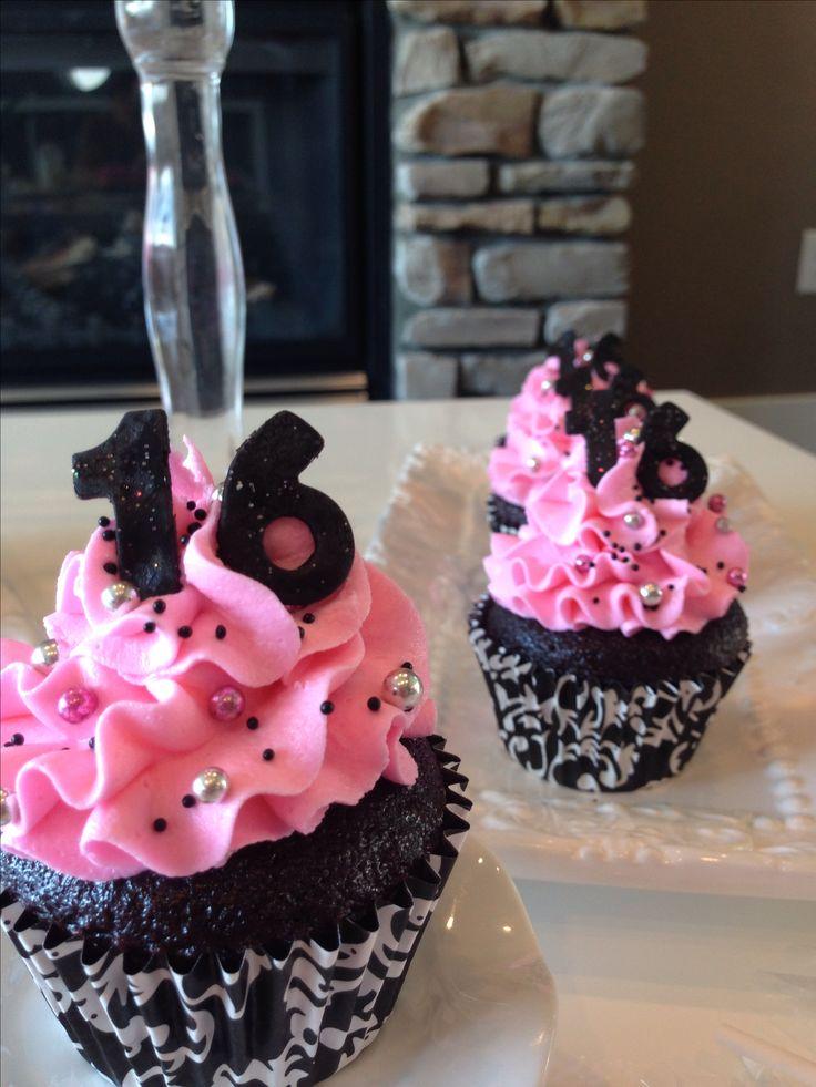 Sweet 16 cupcakes                                                                                                                                                     More
