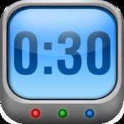 Interval Timer - Timing for HIIT Training and Workouts by Deltaworks - Free: primarily used for exercise but includes a timer to keep track of workout and rest periods and runs in the background of your device and even when it's in the lock screen.