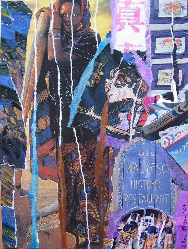 Fonkelnieuw Collage maken tips (met afbeeldingen) | Papier collage, Collages HG-45