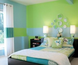 Dark Blue And Green Bedroom. Gorgeous Dark Gray Green And Blue .