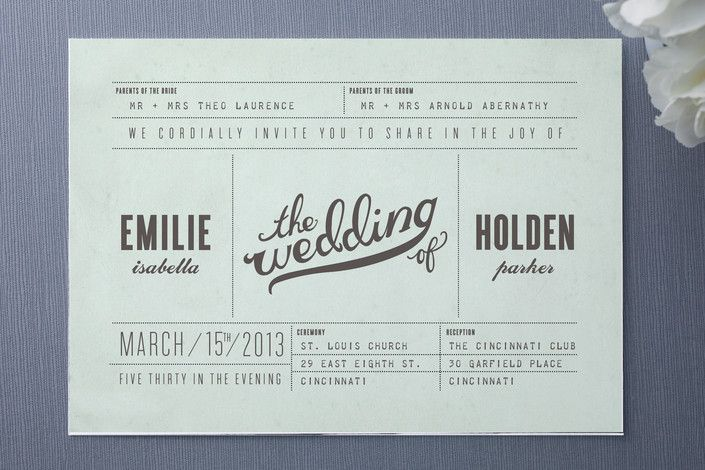 Love the idea for this one - looks like an old fashioned travel ticket!