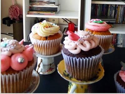 Suporte fofo para cupcakes...