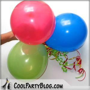 simple birthday balloon decor