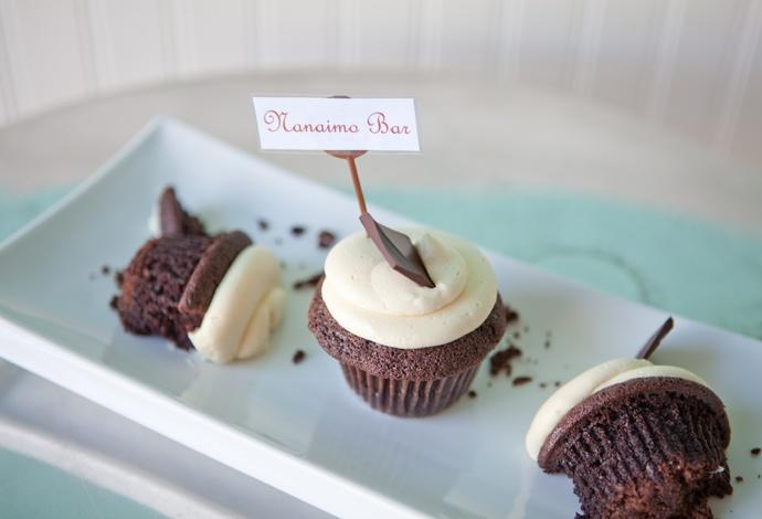Nanaimo Bar Cupcake - A Wee Cupcakery