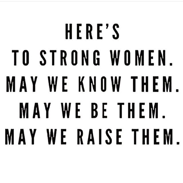 brave women run in my family