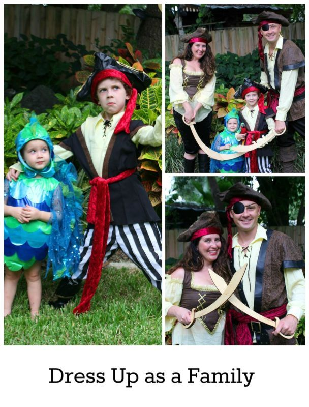 #ad Dress up as a family this Halloween in fun family pirate costumes - Family Halloween Costumes - BonBon Rose Girls