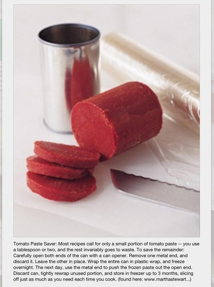 No waste tomato paste