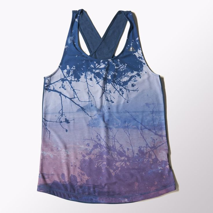 Loose, Easy Fit Women's Yoga All-Over-Print Tank Top With