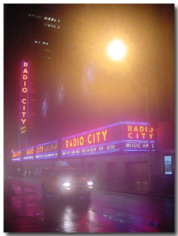 Rainy evening, New York City