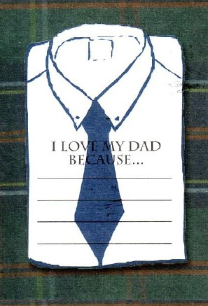 Thinking ahead to Father's Day... or maybe sooner!  These cards are so cute!