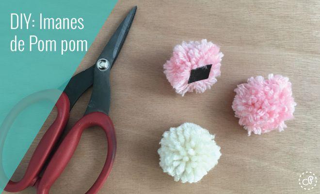 Imanes de pompom perfectas para decorar cualquier superficie magnética.