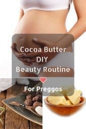 Cocoa Butter Pregnancy Stretch Marks
