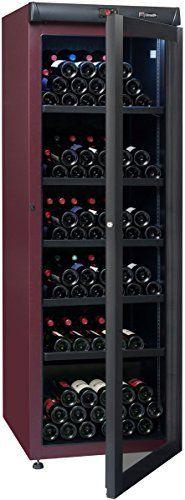 Cave à vin de vieillissement – 1 temp. – 265 bouteilles – Lie de vin – CLIMADIFF – ACI-CLI722 – Pose libre: Cave à vin mono-température de…
