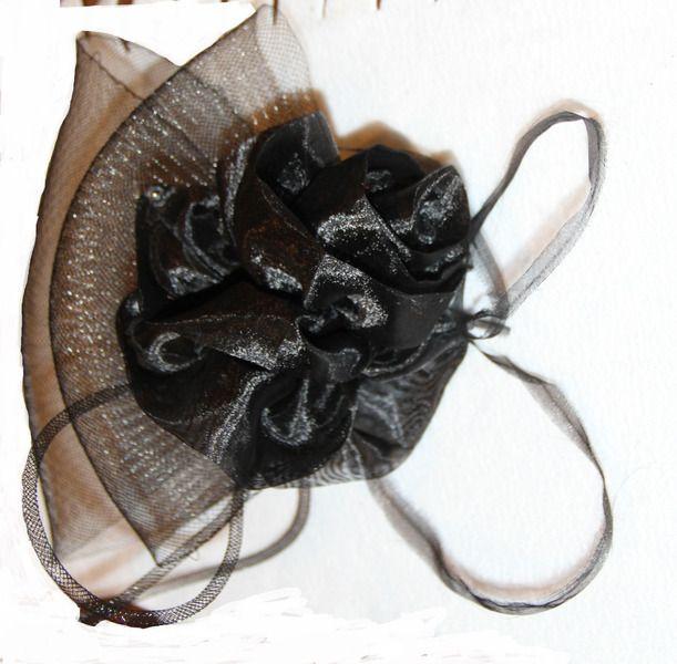 Fascinator, Hütchen Gothic Lolita burlesque von tsvay auf DaWanda.com