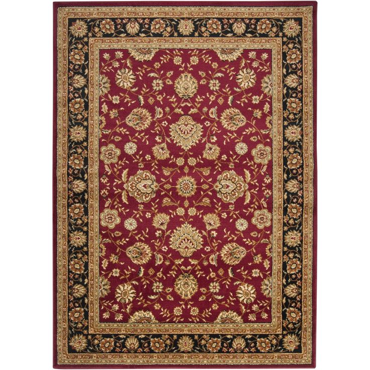 "Meticulously Woven Tow Law Olefin Rug (2'2"" x 3'3"") (Burgundy-(2'2"" x 3'3"")), Red, Size 2' x 3'"