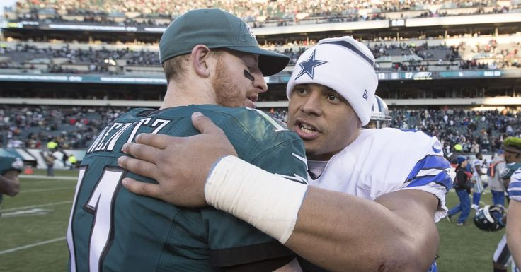 It's impossible to have Eagles-Cowboys week without some Carson Wentz vs. Dak Prescott debate. According to 25% of the NFL's general managers, however, there isn't much debate when it comes to the...