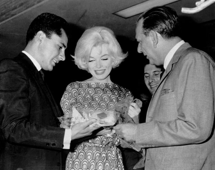 Marilyn during her visit to Mexico, March 1, 1962.