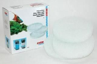 EHEIM Filter Pad White 2215. Fine white top pad (ehfisynth) for 2215 classic filter. Royal Item Number: AEH2616155