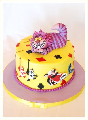 Cheshire cat cake.. Little mermaid one would be awesome