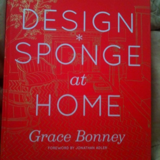 New Design Sponge book came in this week! So excited to dive in!!!!