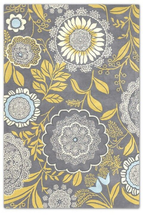 Yellow and Grey wallpaper https://www.jossandmain.com/Amy-Butler-Wallpaper~E460.html