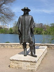 Stevie Ray Vaughan- statue in Austin, TX