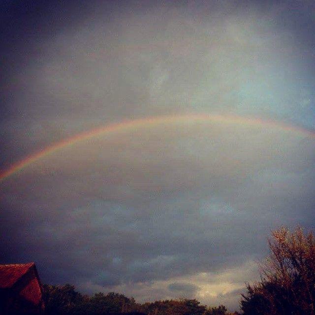 #rainbow #rain #rainyday #rainbows #summer #sky #skystagram #clouds #cloudstagram #colorful #colors