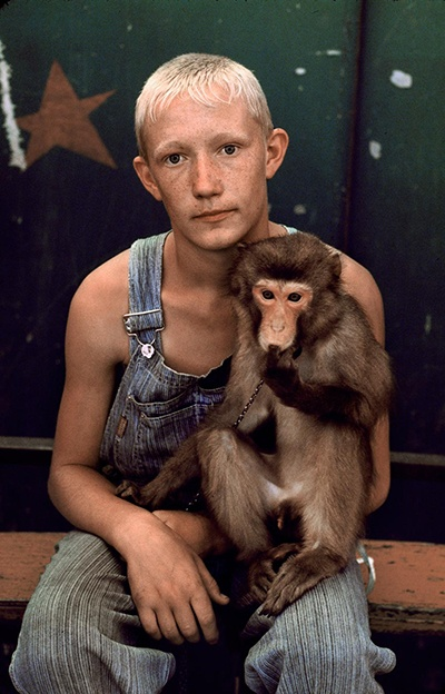 Deep Ancestry, 07/05, Young Russian Circus Performer, by Steve McCurry
