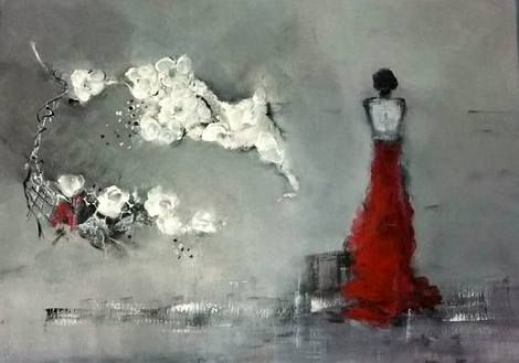 Solfrid Skarseth, Acrylic on canvas 70*50 on ArtStack #solfrid-skarseth #art