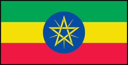 Bandera de Etiopia