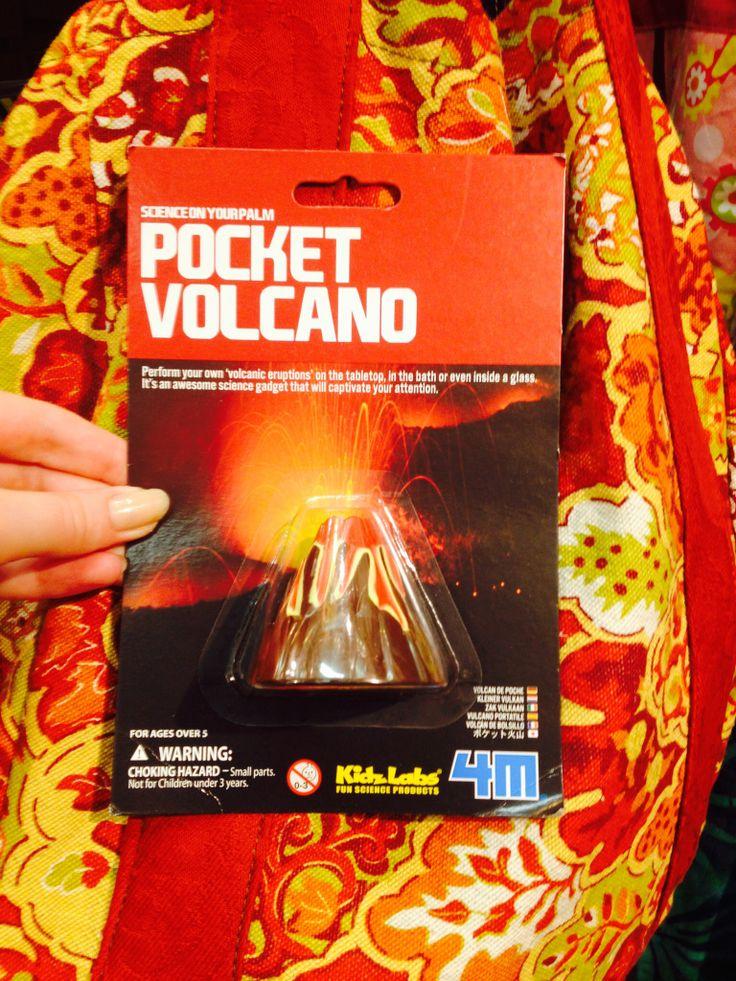 Pocket volcano!