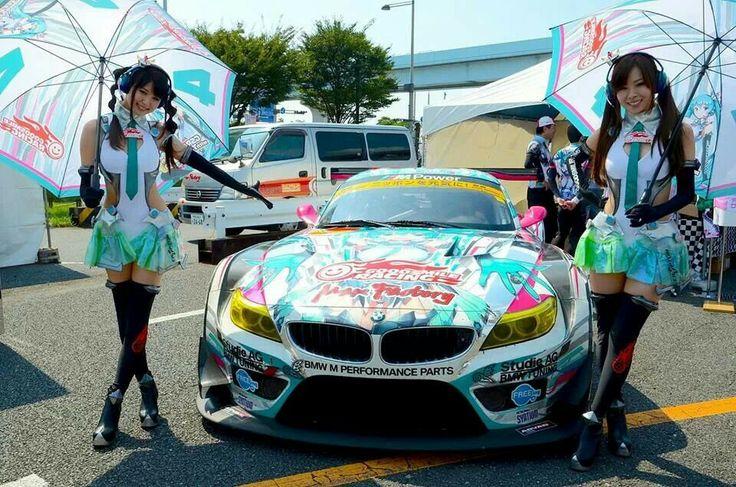 Hatsune miku car anime cars pinterest cars and