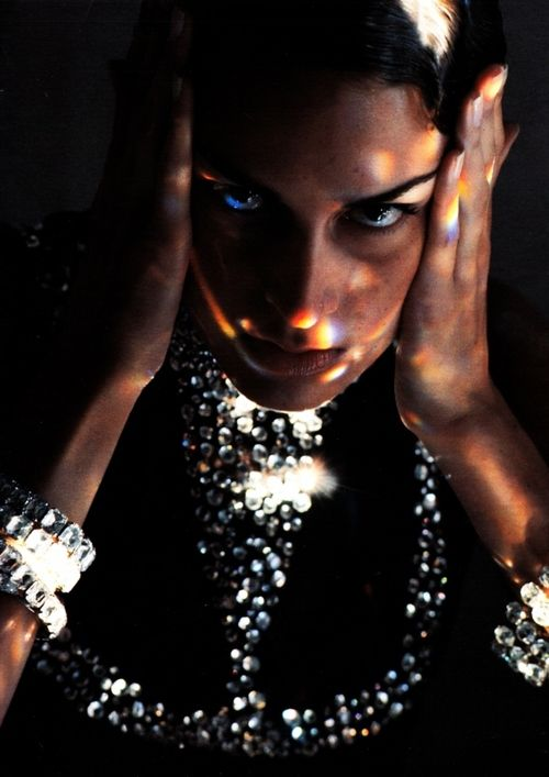 """""""Giochi Di Luce"""" photographed by Christian Moser for Marie Claire Italia October 1991"""