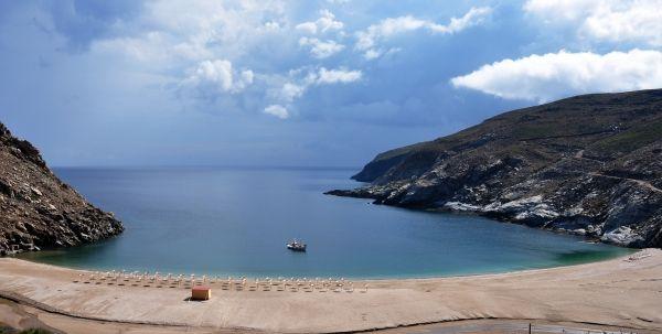 Zorkos beach from above
