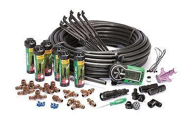 Automatic Sprinkler System Kit In-ground Easy Installation Lawn Yard Rain Bird