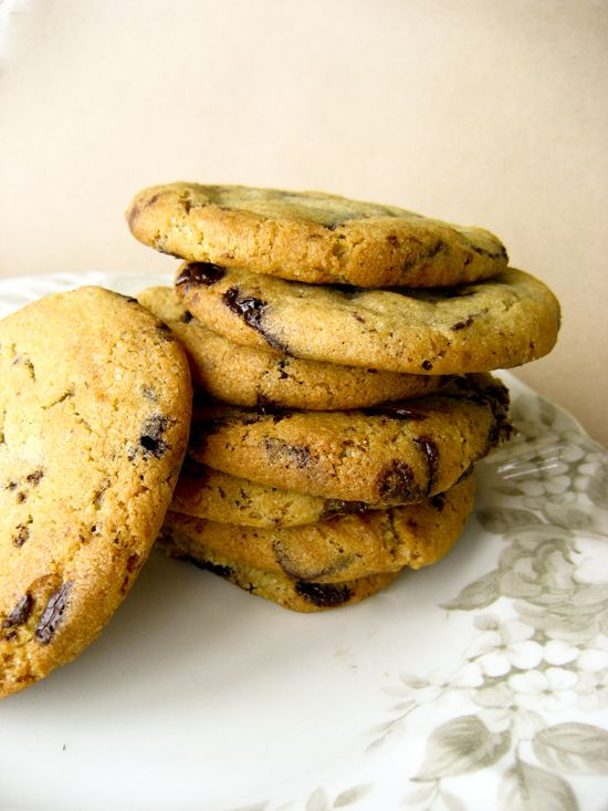 The perfect Chocolate Chip Cookie/ Το τέλειο μπισκότο cookie με κομματάκια σοκολάτας