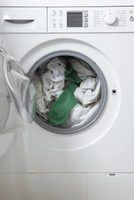 Keep the washer door open when you're done with laundry.