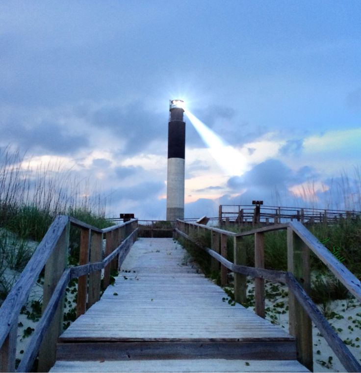 Oak Island, NC lighthouse #oakisland