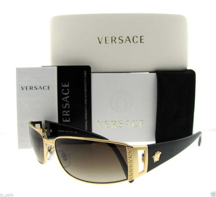 Authentic Italy Versace Sunglasses Men Pilot Aviator Crystal Gold/Black Unisex | Clothing, Shoes & Accessories, Unisex Clothing, Shoes & Accs, Unisex Accessories | eBay!