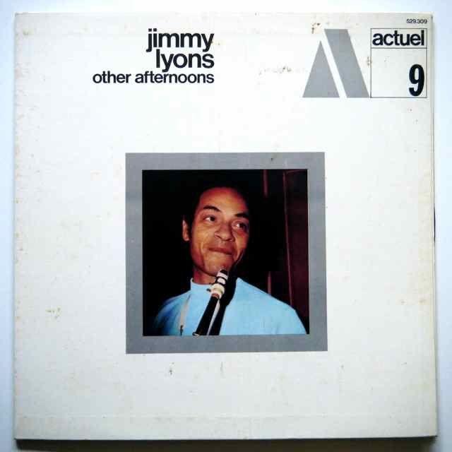 Jimmy Lyons/Actuel 9