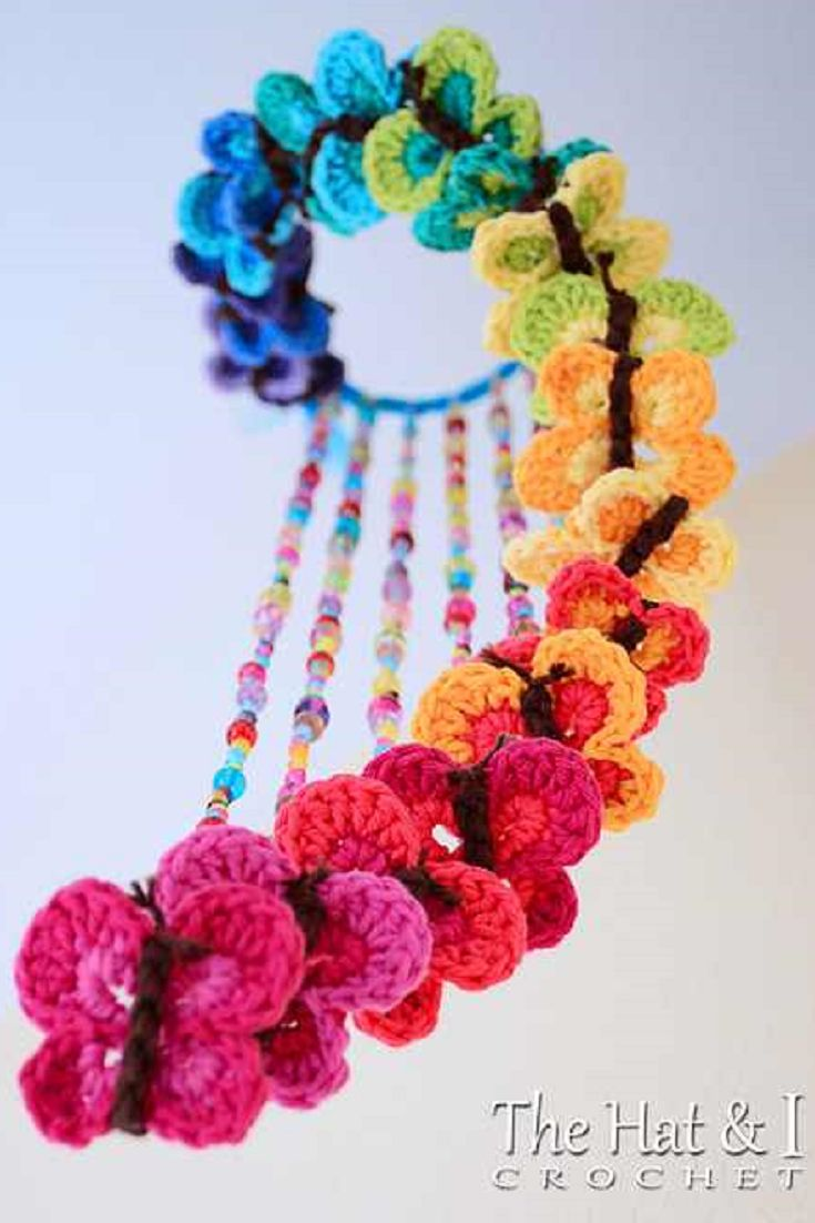 [Free Pattern] Have Wonderful Fun With These Playful And Creative Crochet Butterflies