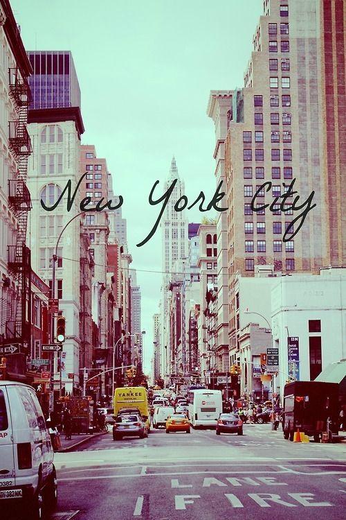 New York City ~ a fairy tale city