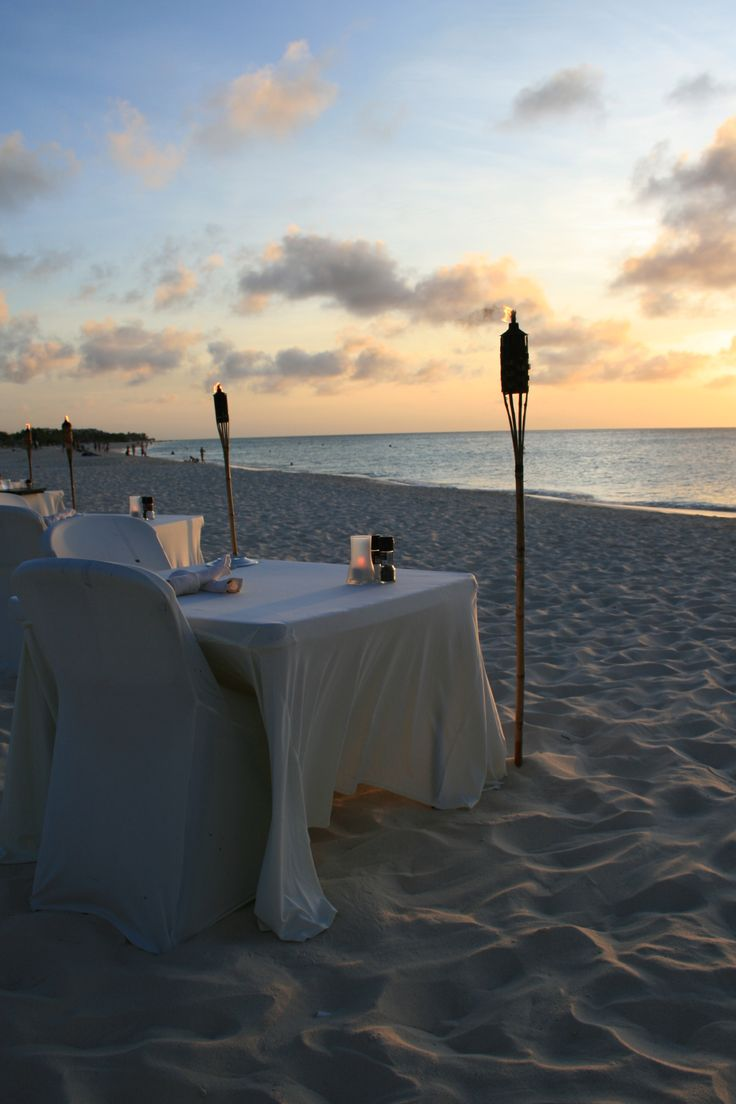 Most Romantic Restaurant in Aruba.  Passions on the Beach.