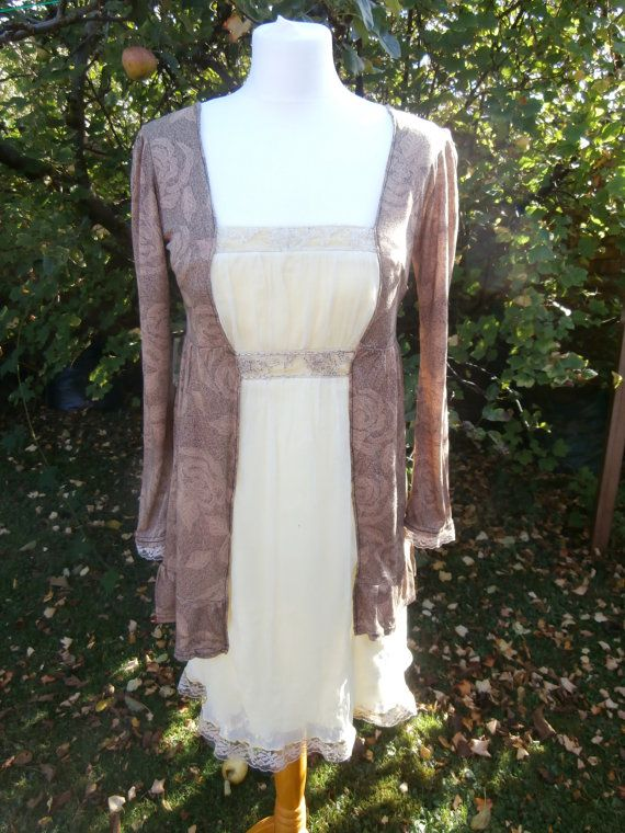 Romantic Upcycled Dress  Jane Austen Inspired. by StrangelyMagical