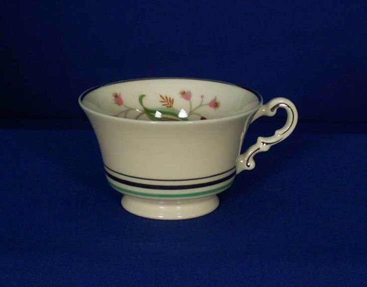 Syracuse USA Old-Ivory Coralbel Pattern Tea Cup Teacup bfe2314 #Syracuse